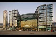 Berlin, Real way Station Designed by the Egyptian Architect Hany Azer