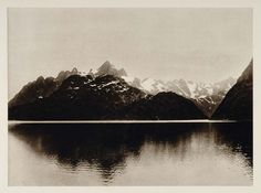 1924 Troltinderne Lofoten Mountains Archipelago Norway - ORIGINAL SC1
