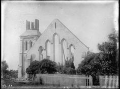 Old St Paul's Church in Emily Place. Auckland, Libraries, New Zealand, History, Places, Painting, Travel, Voyage, Painting Art