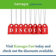 Visit Kamagra Fast today and check out the discounts available.