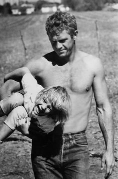 Steve McQueen No matter how famous he became, he devoted his time and money to the Boys Republic, a boys home where he had spent some time as a child. He did it before celebrity charity was in vogue.