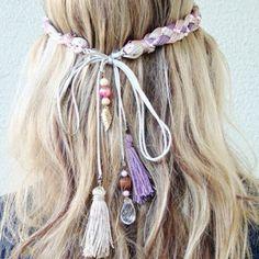 Head band Hippie hair :)