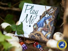 PlayMe : Alice in Wonderdice - PlayMe flings you into Lewis Carroll's masterpiece. Roll wonder dice, catch the rabbit, escape madness and trap your opponents forever!  #PlayMe #AliceInWonderdice #Game #Kickstarter #Crowdfunding