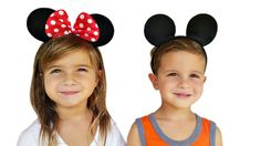 Perfect Minnie and Mickey Mouse Ears for Disney and Birthday Parties $8.99 each