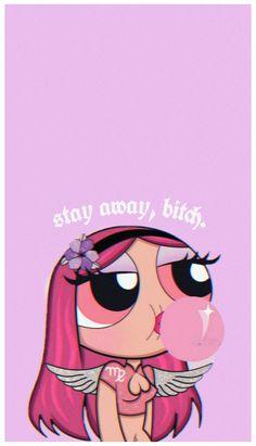 Pink Wallpaper Cartoon, Pink Wallpaper Girly, Sassy Wallpaper, Powerpuff Girls Wallpaper, Bad Girl Wallpaper, Cute Disney Wallpaper, Cute Cartoon Wallpapers, Powerpuff Girls Cartoon, Girly Wallpapers For Iphone