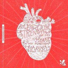 Strength Of My Heart | Ecards | DaySpring