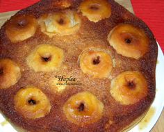 tort cu mere intregi caramelizate poza 12 Romanian Food, Romanian Recipes, Deserts, Muffin, Food And Drink, Pudding, Cookies, Breakfast, Sweets