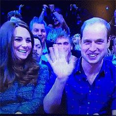 Will and Kate at a Bball game. December 2014
