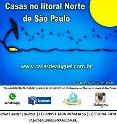 Praia de Toque-Toque Pequeno em São Sebastião, SP