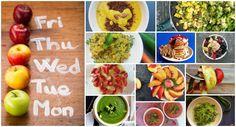 Easy Vegan: Organizzare una settimana di pasti vegan per chi non ha tempo (con piano d'esempio stampabile )