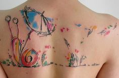 Community Post: 28 tatouages ​​aquarelle sublimes