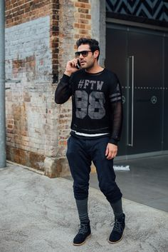 .men legging and pant is a great idea for cool weather, mix with sportwear top