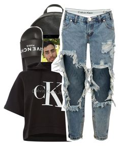 """Wool x Earl sweatshirt"" by shilohluvsu ❤ liked on Polyvore featuring MICHAEL Michael Kors, Calvin Klein, Givenchy and One Teaspoon"