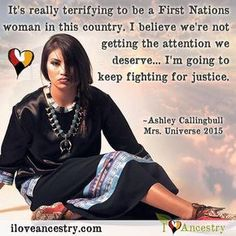 Ashley Callingbull is the first ever aboriginal winner of Mrs. Universe 2015. We applaud her stance on important issues that directly affect indigenous people across North America. She gets political, and she doesn't care if you don't like it. The...