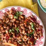 Charro Beans(no bacon for me!)
