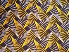 ShweShwe fabric. sort of retro. sketchy. pattern.