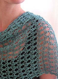 Waves of Lace Shawl
