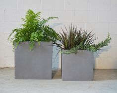 The Swank Planter is a classically modern square planter fit for indoor and outdoor use. Square Planters, Modern Planters, Midcentury Modern, Stuff To Do, Planter Pots, Mid Century, Indoor, Furniture, Stone