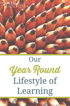 Our Year Round Lifestyle of Learning - #Homeschooling #Help #Encouragement