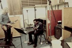 Duane and King Curtis, Atlantic Studios, New York, New York, 1969, unknown photographer