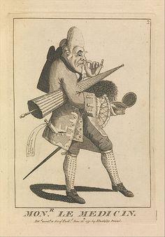 Monsieur Le Medicin. Attributed to Sir Henry William Bunbury, 1771.