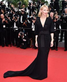 Cate Blanchett in Armani Privé at Cannes 2015