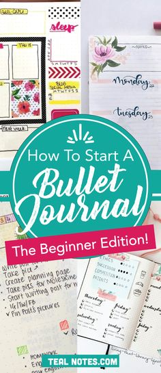 Learn how to start a bullet journal and get organized, perfect for complete beginners or for BUJO planners that are simply looking for bullet journal ideas and inspiration. :)