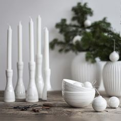 Use the candle holders as part of a design tableau or perhaps as this year's Advent candle.