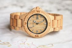 Wooden Watch For Women or Men Maple Wood Watch by DOWOODwatch