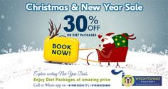 "Weightshake Factory Wishing all a fabulous beginning to ""Twenty Sixteen (2016)"".... Feel Twenty & Look Sixteen....  A small gift for you all on this beautiful Christamas & New Year day: Now you can avail 30% on Diet Chart Packages till 7th January, 2016.  Explore  Exciting New Year Deals & enjoy diet packages at amazing price. For Booking: Call or Whatsapp us at +919953329177, +919599230890"