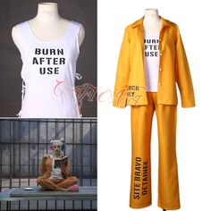 Harley Quinn Cosplay Costume Prison Uniform Set //Price: $90.44 & FREE Shipping //     #dccomics  #cosplay  #catwoman #comiccon #comics #love #quinn #justiceleague #makeup