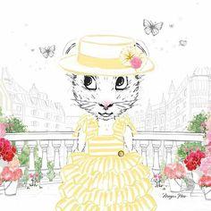 Megan Hess Illustration, Pikachu, Cinderella, Disney Characters, Fictional Characters, Photo And Video, Disney Princess, Claris, Anime