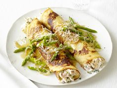 Chicken and Asparagus Crepes from FoodNetwork.com