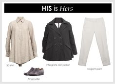 Style ideas for your work wardrobe - His is Hers