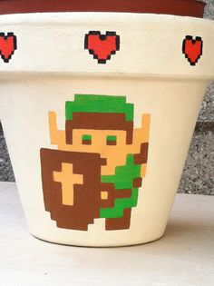 Link flower pot by Ginger Pots