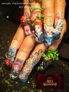Alice+in+Wonderland.......+|+NAILPRO