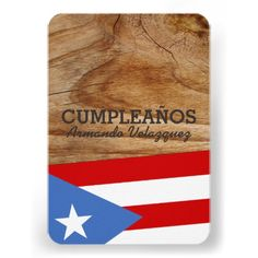 Puerto Rican Themed Party Invitations