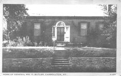 Home of General William O. Carroll County, My Old Kentucky Home, Butler, Yard, History, Outdoor, Outdoors, Patio, Historia