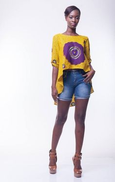 Ghana's Poqua Poqu: Latest collection is a luxury Prêt a Porter~Latest African…