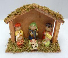 Juvenile nativity scene