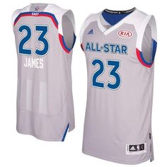 40d3768c3c5  Cavaliers  23  LeBron  James Gray 2017 All Star Stitched NBA Jersey
