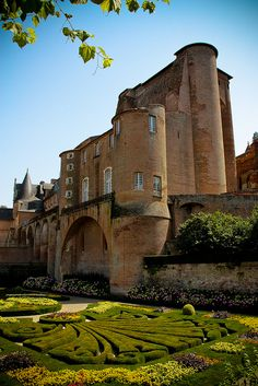 "Berbie Palace is an ancient fortress located in Albi, France. It houses the Toulouse-Lautrec Museum.  Its origins are medieval, with some modifications made in the late 15th century to ""modernize"" it."