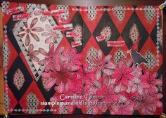 Stampings and Inklings: Using Black In Your Art... art journal page with Dylusions by Caroline Duncan