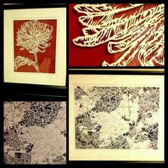 Framed papercuts Paper Cutting, Rugs, Create, Artwork, Cards, Home Decor, Farmhouse Rugs, Work Of Art, Decoration Home