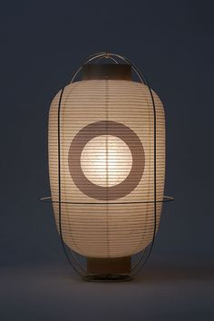 Nice Japanese style floor lamp, to add a zen feeling to your interior… Chochin… - Lampshade Modern Japanese Lighting, Modern Lighting, Japanese Lamps, Camping Outfits, Ancient Paper, Japanese Paper Lanterns, Hanging Lights, Jar Lights, Lamp Design
