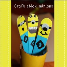 From our DIY series, today's special project is making craft stick minions!  On craft sticks, make a splash of your favourite colours with paints, paper and other embellsihments.   Get your little ones to use them as space markers while writing or decorate their pen holders with these sticks that also double up as book markers.  #Bril #MakesLivingFun  **Like us on Facebook www.facebook.com/brilconnect **