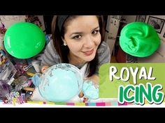 ROYAL ICING / GLASEADO GALLETAS DECORADAS / GLASA REAL - YouTube