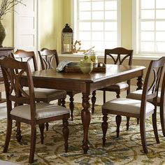 The Undeniable Truth About Gracehill Extendable Dining Table That No One Is Sharing With You 14 - flipsyourhome Dining Room Blue, Kitchen Dining Sets, 7 Piece Dining Set, Solid Wood Dining Chairs, Dining Room Sets, Traditional Dining Chairs, Traditional Furniture, Liberty Furniture, Extendable Dining Table