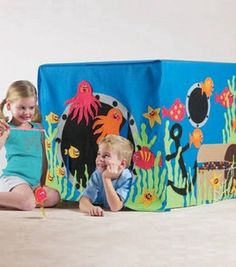 Under-The-Sea Playhouse & Fishing Game WITH Pattern!