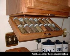Great idea for storing spices